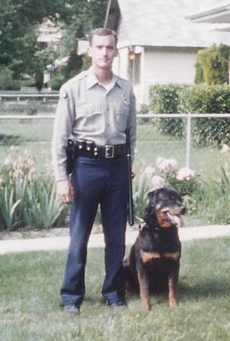Jim Kuiken K9 Officer