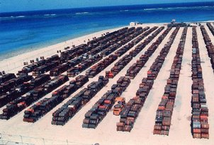 Johnston Atoll circa 1973